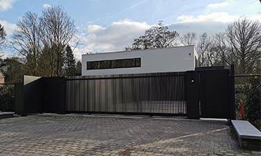 Exclusieve design poort Lamels | Panel - Schilde